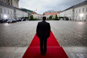 Wizyta Prezydenta USA Baracka Obamy w Polsce, dziedziniec Pałacu Prezydenckiego, 27 maja 2011. Fot. Wojciech Grzędziński